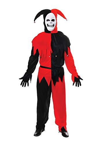 HENBRANDT Disfraz de Halloween Terror Evil Bufón