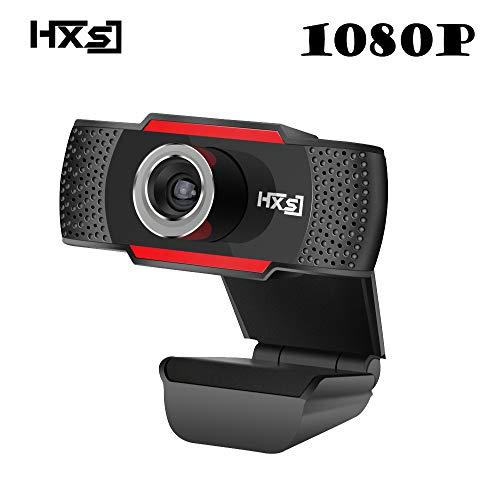 Rabusion USB-Webkamera 1080P HD 2MP Computerkamera Webcams Integriertes Mikrofon mit Ger鋟schd鋗pfung.
