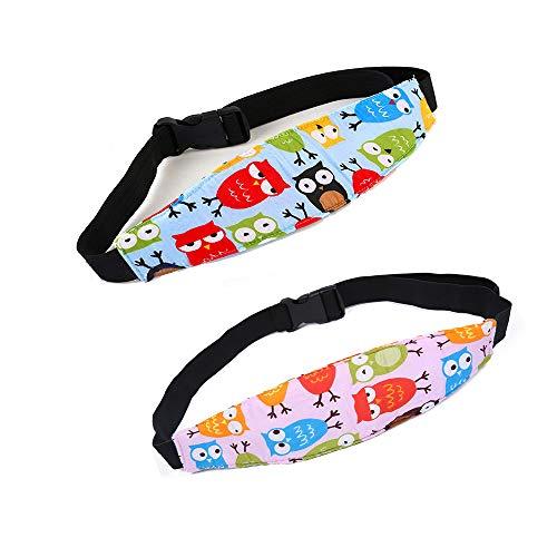 Siège d'auto tête de soutien des bandes de sécurité Pram Nap Support avec réglable Sleepy Positionneur pour parcs pour enfants Les enfants de bébé tout-petits enfants Paquet de 2