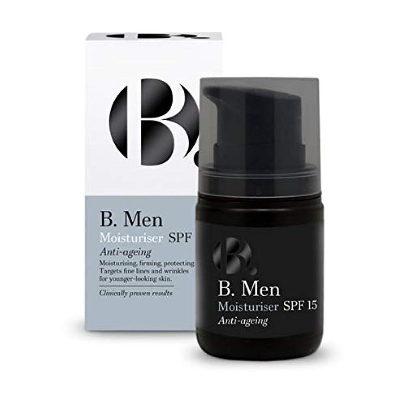 スマイル誰差し控える[B Men] B。男性しっかりアンチエイジングモイスチャライザー - B. Men Firm Anti-Ageing Moisturiser [並行輸入品]