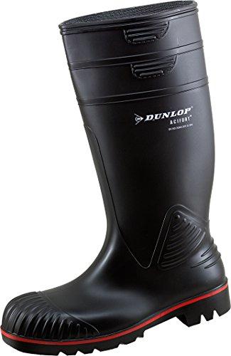 Dunlop Acifort Dunlop Acifort ,Gummistiefel,Regenstiefel,Arbeitsstiefel,Freizeitstiefel (41, schwarz)
