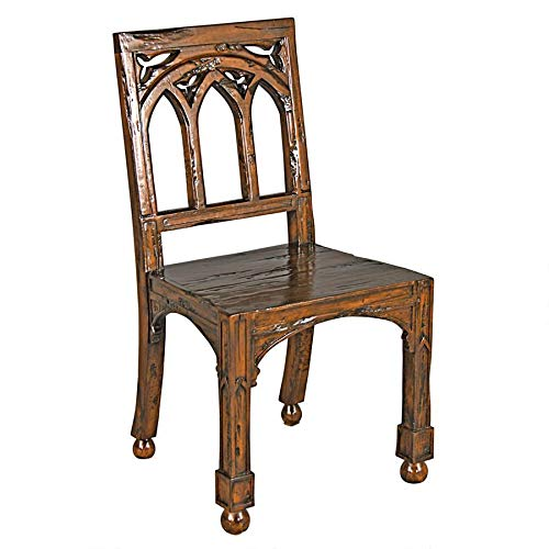 Design Toscano Gothic Revival Rectory Chair