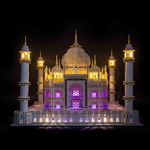 Seciie LED Beleuchtungsset LED Licht-Set für Lego 10256 Taj Mahal - Modell Nicht Enthalten