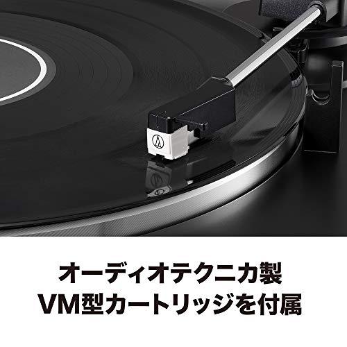 audio-technicaフルオートレコードプレーヤーダークガンメタリックAT-LP60XDGM