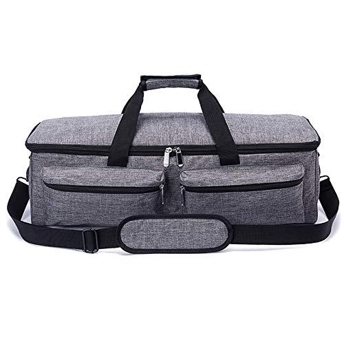 Liseng Sac de transport compatible avec Explore Air 2, sac de rangement compatible avec Silhouette Cameo 3 et fournitures Gris