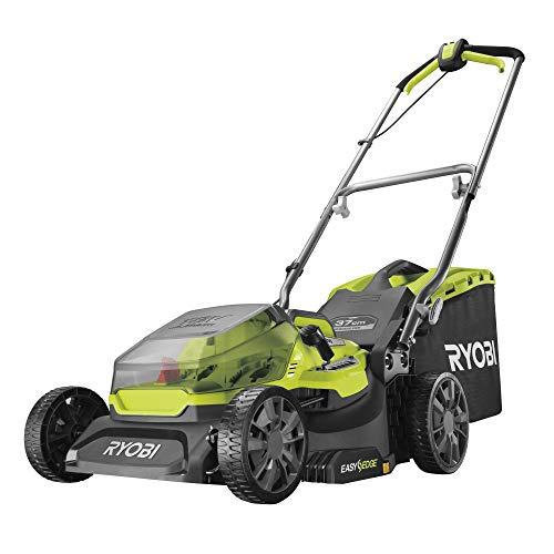 RYOBI Bürstenloser Rasenmäher 18V - schneidet 37 cm - ohne Batterie oder Ladegerät - RY18LMX37A-0