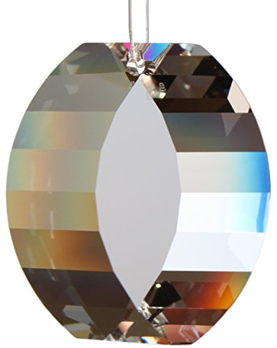 Kristallset: View 50mm von Swarovski Kristalle mit Rieser® Aufhängeset Feng Shui Pendel Set