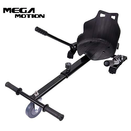 Mega Motion Hoverkart Overkart Kit de Go Kart pour Hoverboard Overboard Gyropode Enfants 6,5, 8 10...