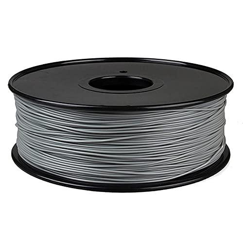 3d Printer Filament 1.75mm, HIPS Filament 1kg (2.2lb) Spool, Dimensional Accuracy +/- 0.03mm-Grey_1.75mm