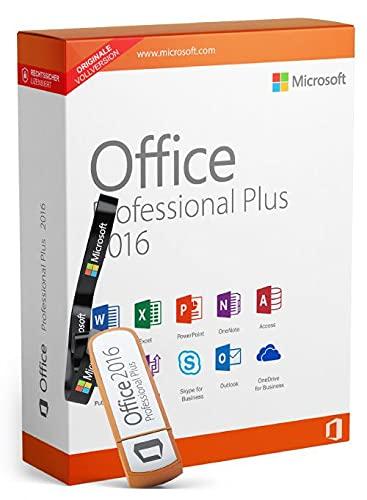 Office 2016 Professional Plus ink. USB-Stick, Aktivierungsschlüssel, Produktschlüssel