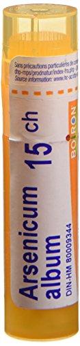 Boiron Canada Album Arsenicum 15 ch / 15 C, 4 g, Médecine homéopthique, tube multi-doses