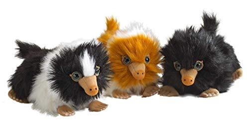 Noble Collection - Komplet Set 3 Plüsch Mini Baby NIFFLER 15cm - Phantastische Tierwesen Grindelwalds Verbrechen - Plush offiziell Warner BROS