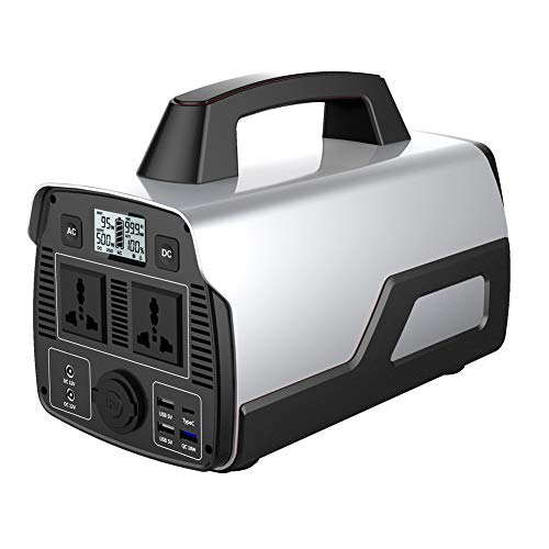 500W Portable Power Station,Energy Storage Power Supply Home Backup Power Supply, Solar Charging Power Supply, for Outdoor Camping RV Travel