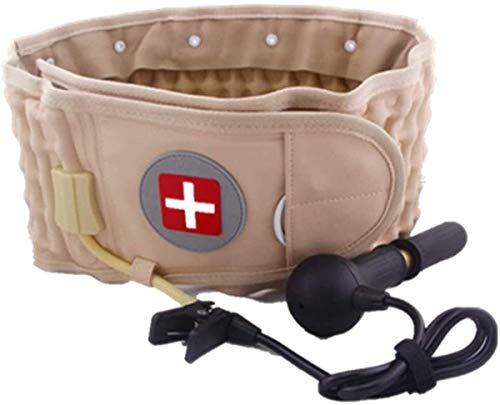 XHDMJ Dekomprimierung Back Belt Air Traction Taillen-Schutz Gürtel Schmerzen Im Unteren Rückenstütze Gepasst for 29 Zoll -49 Zoll Rückenstütze Verstellbar
