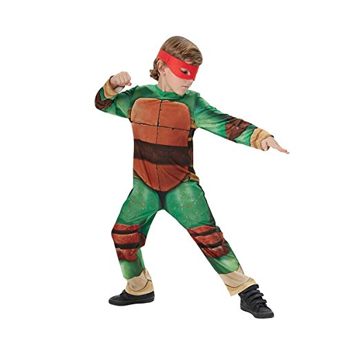 Disfraz de Tortuga Ninja para niños, talla infantil 7-8 años (Rubie