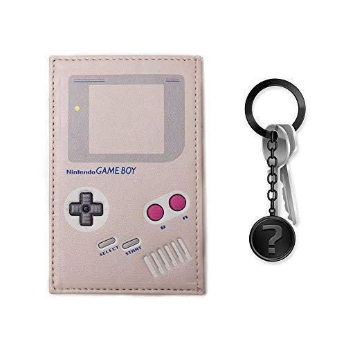 yvolve Nintendo - Gameboy - Kartenetui   SET inkl. Schlüsselanhänger