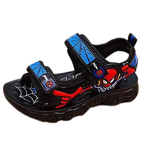 MODRYER Niños Niños Sandalias Sandalias Deportes Playa Zapatos Jardín Sandalia Ligero Antideslizante Mulas Verano Niños Entrenadores Casuales Calzado,Blue-37/Inner Length 23cm
