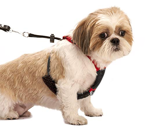 SPORN! Nylon Non Pulling Dog Harness, Small, Red