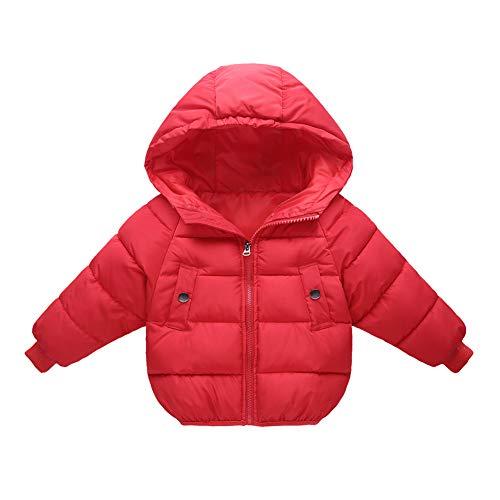 Gyratedream kindermantel outfits tops herfst baby trainingspak dik solide bedrukte capuchon jas 110 cm R