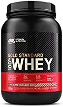 Optimum Nutrition Gold Standard 100% Whey Protein Powder, Chocolate Hazelnut, 2 Pound (Packaging May Vary)