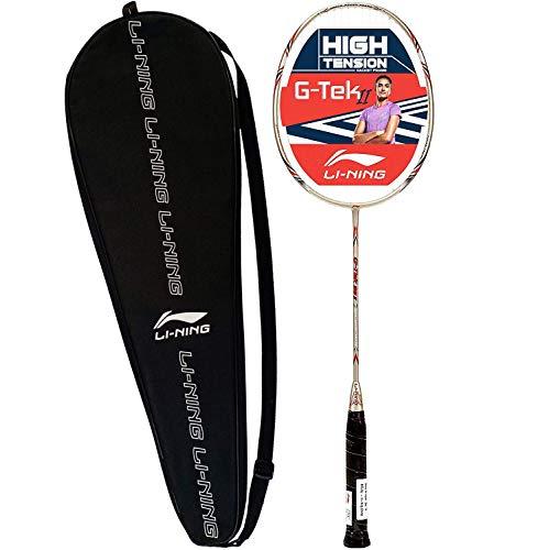 Li-Ning G-Tek 38 II Strung Badminton Racquet with Full Cover -...
