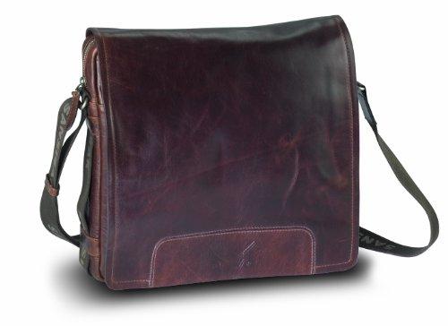 Sansibar Messenger Bag A4 espresso 33x7x29