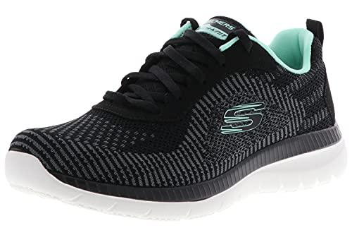 Skechers Sport Womens Bountiful Purist - Zapatillas deportivas para mujer, color negro, color Negro, talla 36 EU