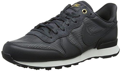 Nike W Internationalist PRM, Zapatillas Mujer, Negro (Anthracite/Summit White/Black/Anthracite 012), 36.5 EU