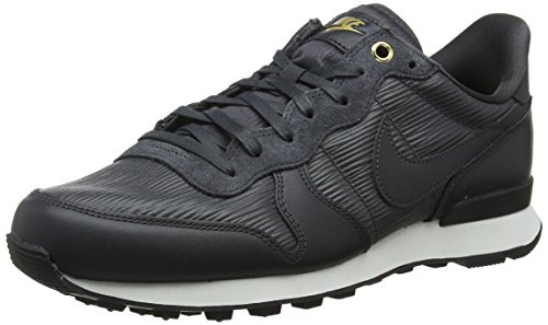 Nike Damen W Internationalist Premium Sneaker, Schwarz (Anthracite/Summit White/Black/Anthracite 012), 37.5 EU