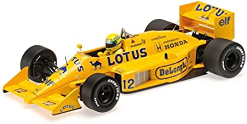 Minichamps 540871812 - Lotus Honda 99T 1987 Team Lotus  Senna Collection Senna, Ayrton