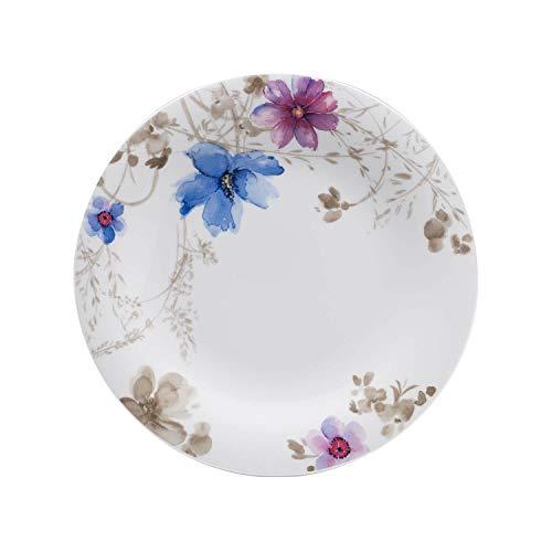 Villeroy & Boch Mariefleur Gris Basic Plato llano, porcelana Premium, 27cm