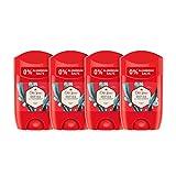 PACK X4 Old Spice Deep Sea Desodorante en Barra para Hombres, 50 ml