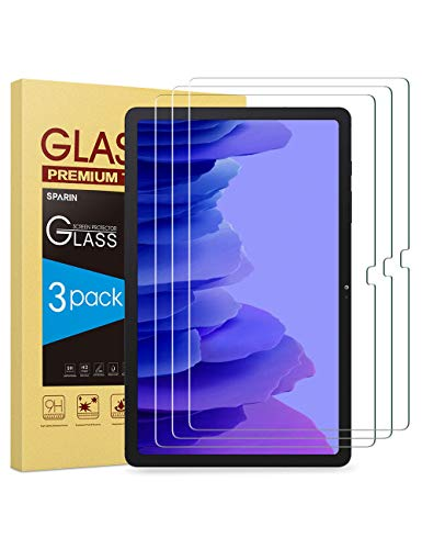 [3-Pack] SPARIN Screen protector for Galaxy Tab A7 (10.4 Inch), 9H...