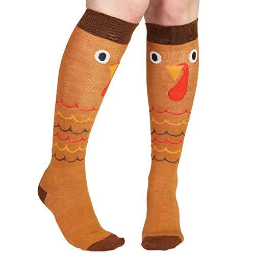 amscan Thanksgiving Knee Socks
