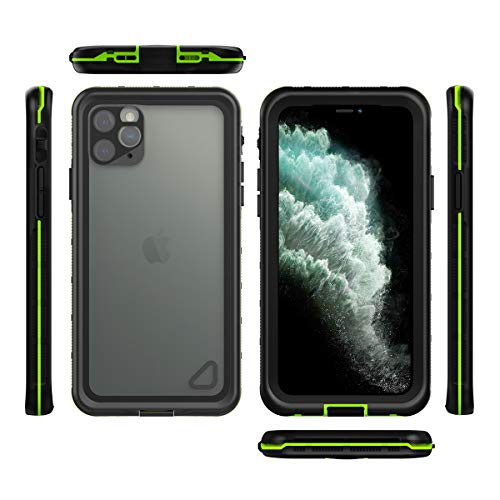 Caso Impermeable Profesional para iPhone 11 Pro MAX con Prueba De Golpes Snowproof Función A Prueba De Polvo iPhone 11/11 Pro Cubierta para La Natación Snorkel Senderismo