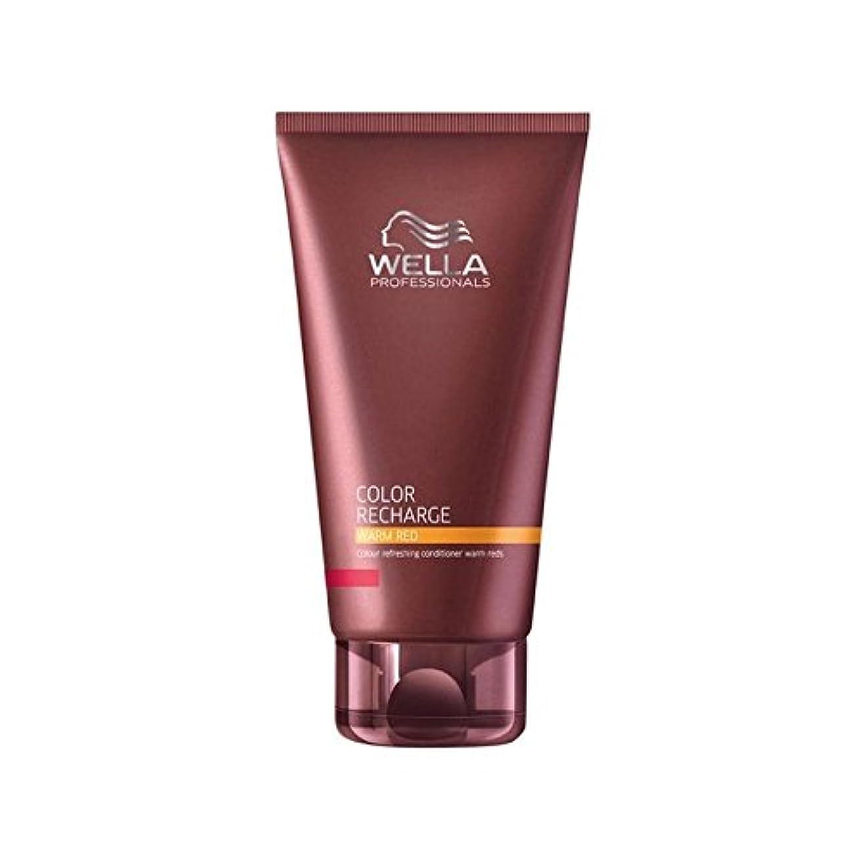 本質的にグッゲンハイム美術館追放するWella Professionals Color Recharge Conditioner Warm Red (200ml) - ウエラ専門家のカラー再充電コンディショナー暖かい赤(200ミリリットル) [並行輸入品]