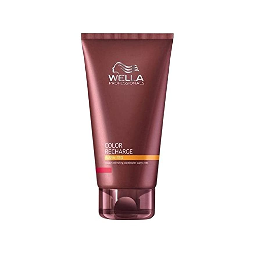 グリーンランドどちらも傷つけるWella Professionals Color Recharge Conditioner Warm Red (200ml) (Pack of 6) - ウエラ専門家のカラー再充電コンディショナー暖かい赤(200ミリリットル) x6 [並行輸入品]
