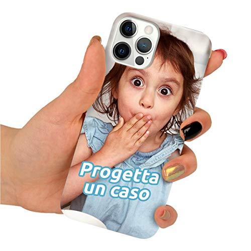 Funnycase Clear Custodia per Telefono Lenovo K6 Note Personalizzata con Qualsiasi Foto (Crea la Tua Immagine) Cover Protettiva Custodia in Silicone Resistente in TPU Morbido