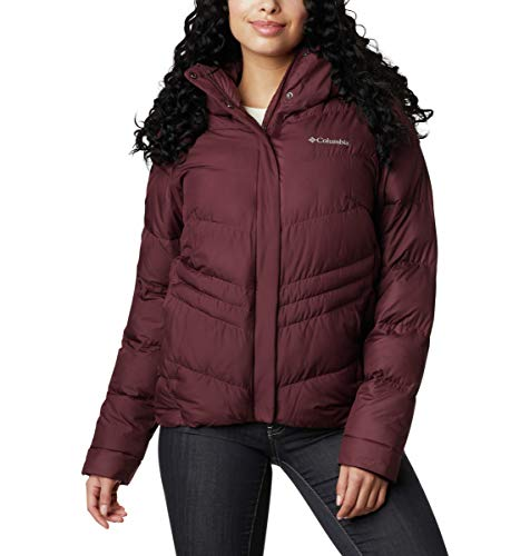 Columbia Women's Peak to Park Insulated Jacket, Malbec, X-Small