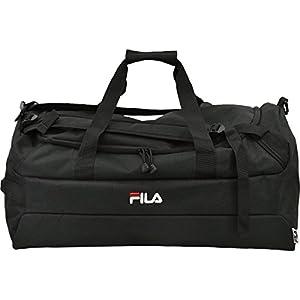 (フィラ)FILA ブランド ロゴ ボストン ボストンバッグ 3way ブラック