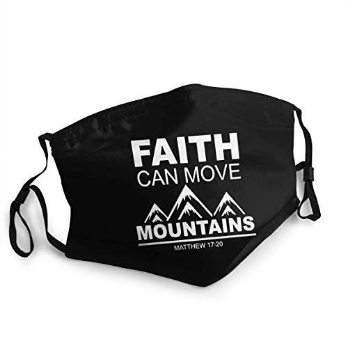 Mundbedeckung Faith Can Move Mountains...