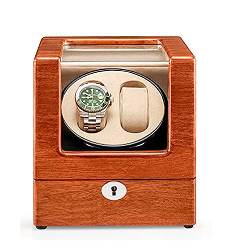 ZCXBHD Enrollador de reloj para relojes automáticos dobles, ajuste de modo de rotación, motor silencioso, tres dimensiones, almohadas de reloj para hombre y mujer, caja de visualización automática