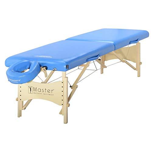 Master Massage 71cm Skyline Massage Therapie Schoonheid Bed Bank Tafelpakket in Marina Blauw