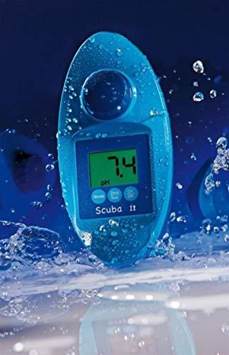 Lovibond Scuba II - elektronischer Pooltester - Messen von freiem Chlor CL–Chlor insgesamt–pHWert –Cyanursäure - Alkaliät - Brom - im Schnelltestverfahren