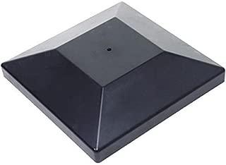 Simpson Strong Tie DPPC6BK-25 Black Plastic Decorative Post Cover for 6x6 Solid Sawn Post (25-Per Box)