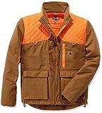 Carhartt . 102801.211.S006 Upland - Chaleco para hombre, color marrón, talla L