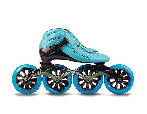 Find Discount TTYY Fiber Boots Professional Speed Inline Skates Women Men Wheels Competition Roller ...