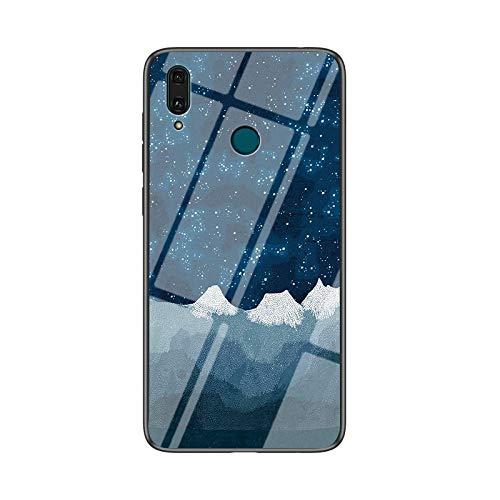 HHF Teléfono móvil Accesorios para Huawei P20 Pro, Caja a Prueba de choques de Vidrio de Cristal de Cristal de Cristal de Lujo para Huawei P20 Lite P 20 P20lite P20PRO 20P