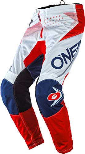 O'NEAL Element Factor Youth Kinder MX DH MTB Pant Hose lang weiß/blau/rot 2020 Oneal: Größe: 20 (4/5)