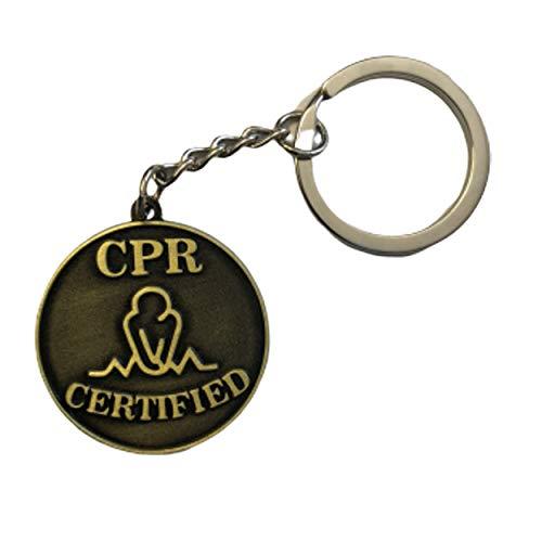 CPRKey, Case of 200 CPR Certified Keychains, Metal